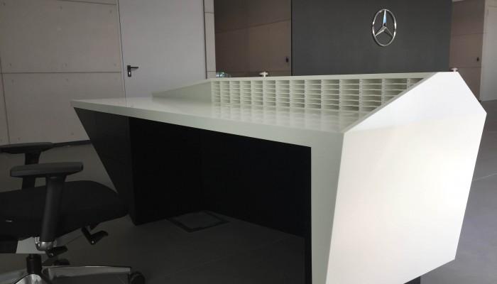 Negozi - Bancone Mercedes
